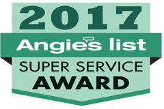 Dryer vent cleaning Angie's list award